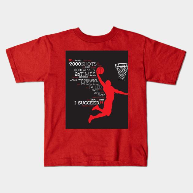 7bb776b4 Michael Jordan - Michael Jordan - Kids T-Shirt | TeePublic