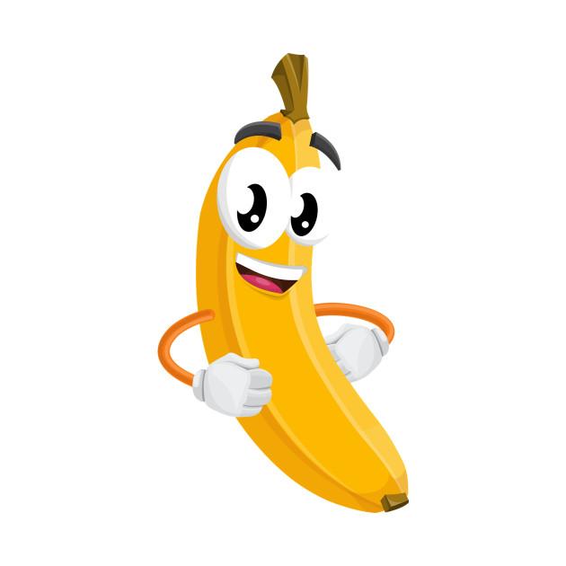 Фото рисунки, банан рисунок смешной