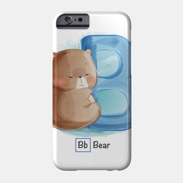 Cute Letter B For Bear Kid