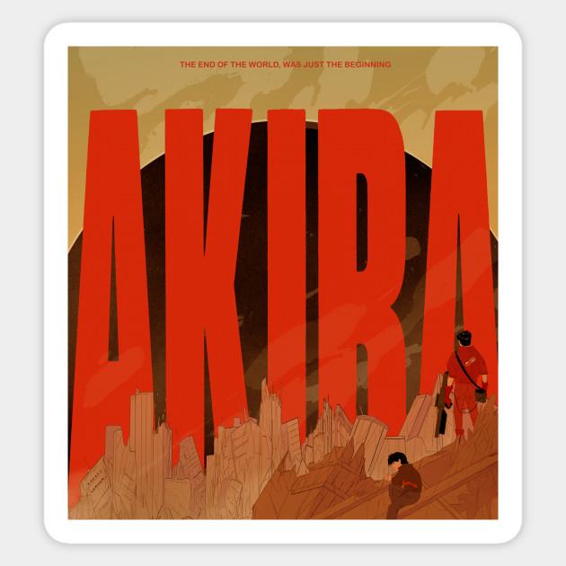 Akira Akira Sticker Teepublic