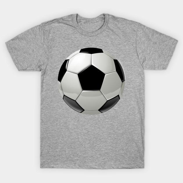 Cool soccer ball sport design. - Soccer Ball - T-Shirt | TeePublic
