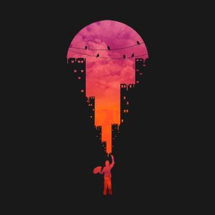 Sunset Painter t-shirts