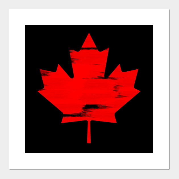 Canada Maple Leaf National Symbol Canadian Pride Design Canadian