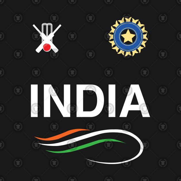 Indian Cricket Team T-Shirt Fans Jersey