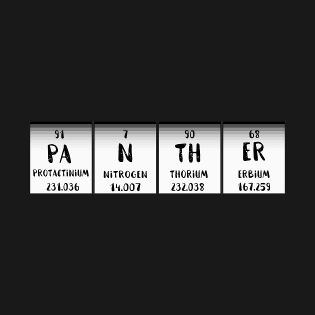 Black panther movie periodic table symbol wakanda warriors t shirt 2440600 0 urtaz Images