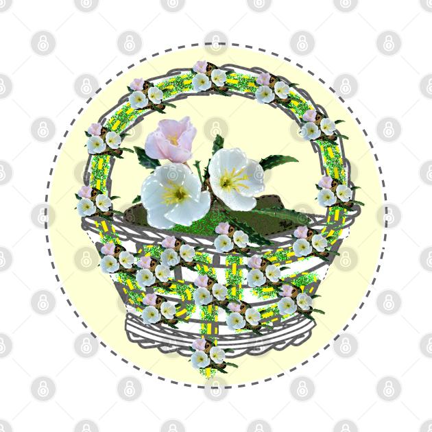 Abound in Hope Flower Basket (Playful Art)