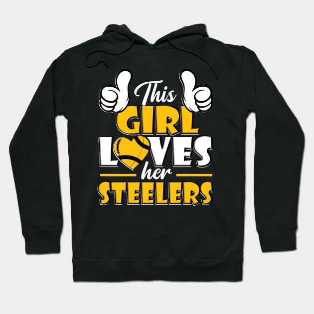 girls steelers sweatshirt