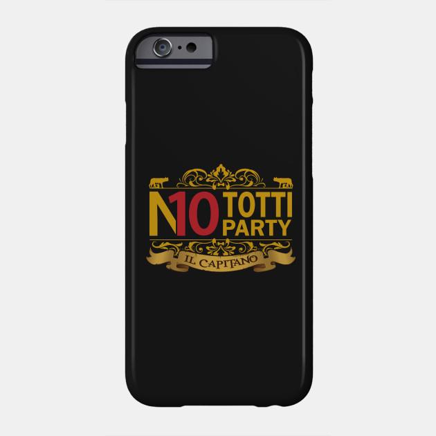 No Totti No Party Gold Ver