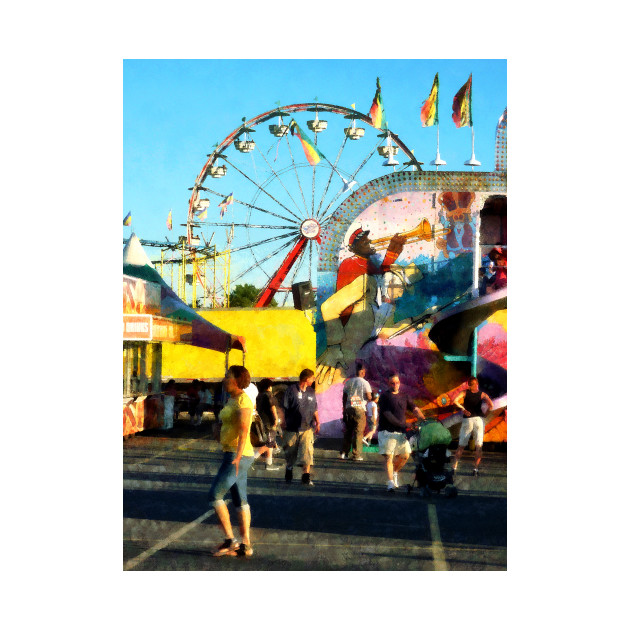 Carnival Midway -