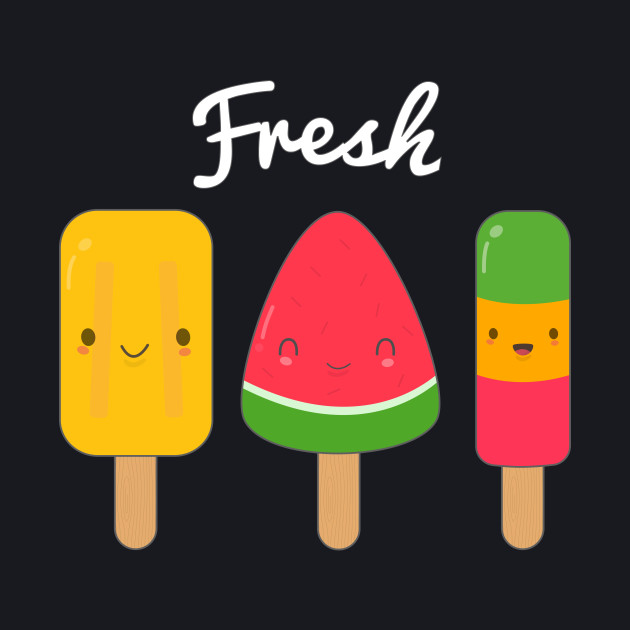 Cute Fresh Ice Cream T-Shirt