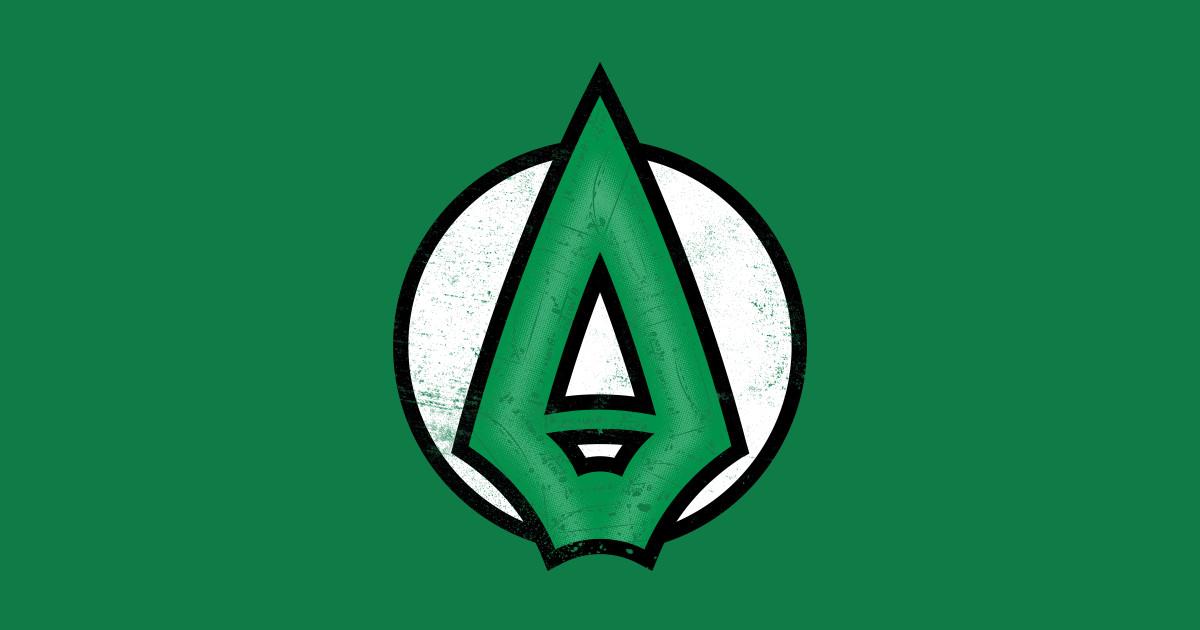 Arrow - Arrow - T-Shirt | TeePublic Green Arrow Superhero Logo