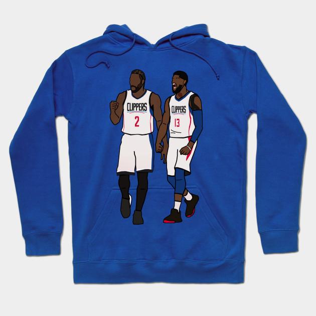 low priced cae22 dd643 Kawhi Leonard x Paul George NBA LA Clippers