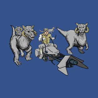 Jurassic Luke t-shirts