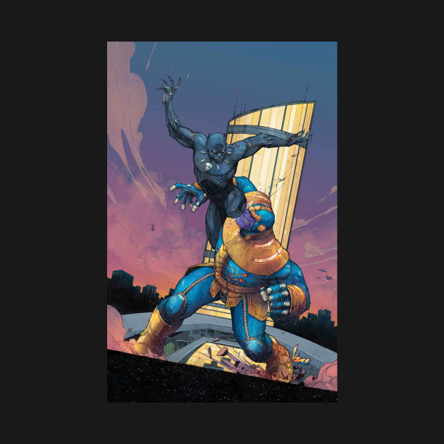 Black Panther v Thanos
