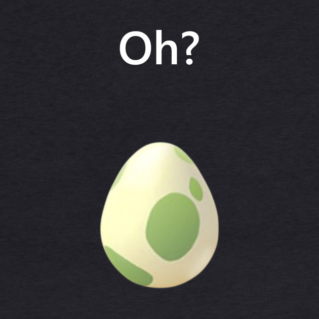 Pokemon GO Egg Hatch White Text