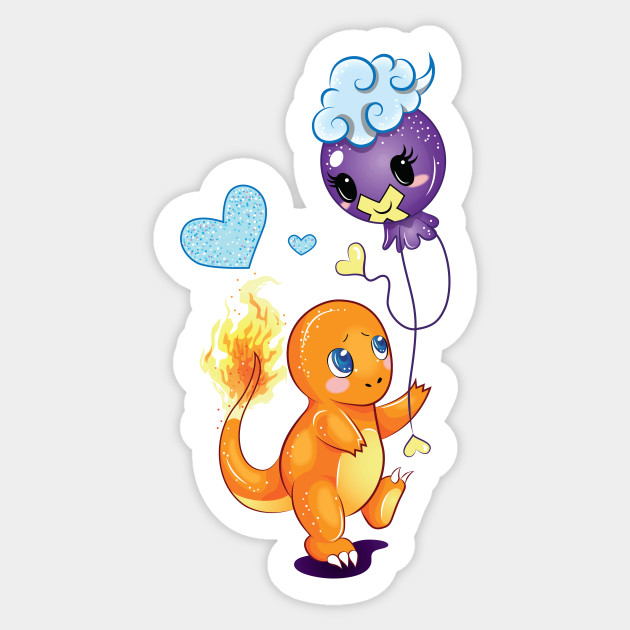Charmander and Drifloon Friends