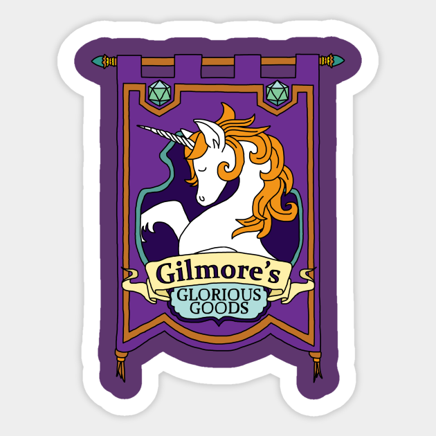 Gilmore S Glorious Goods Gilmores Glorious Goods Autocollant Teepublic Fr Hm yes #lets do some serious. gilmore s glorious goods