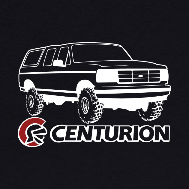 Ford Bronco Centurion w/tires, White Print