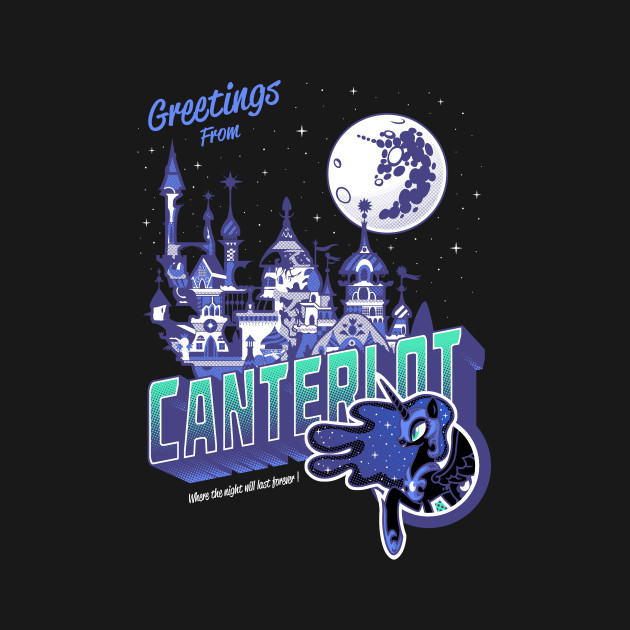 Greetings from Canterlot - Variant