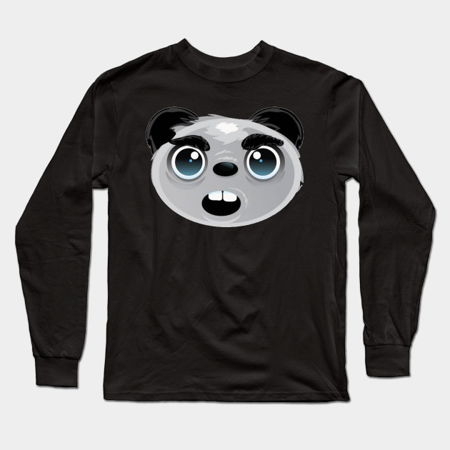 Kung Fu Panda Inspired Face Printed Hoodie Kids and Adult Sizes