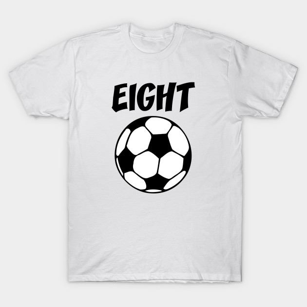 8 Year Old Soccer Birthday Party 8th T Shirt