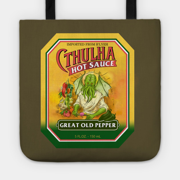 Cthulha Label (Great Old Pepper)