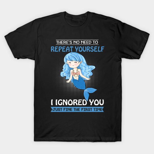 Blue Mermaid Shirts