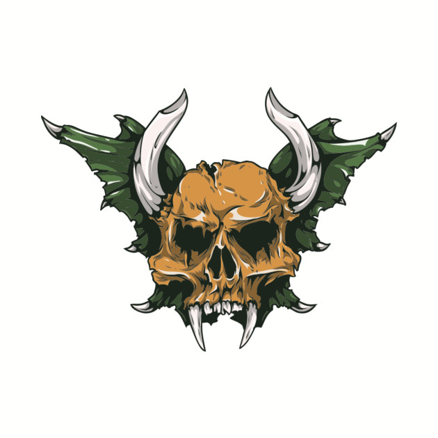 Demon Skull Horns