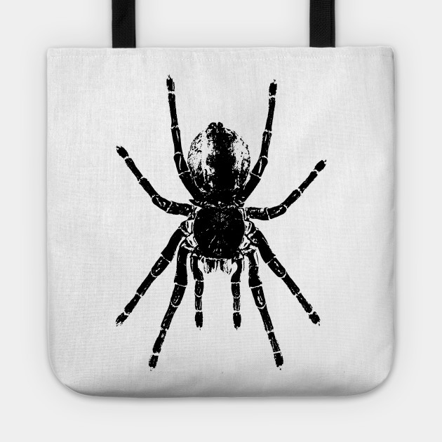 Scary Tarantula Spider Halloween Black Arachnid