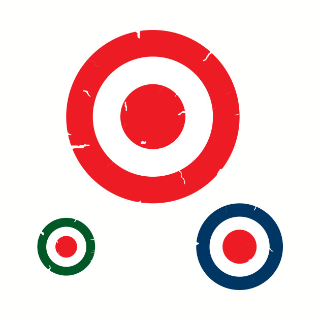 Targets. Tattered