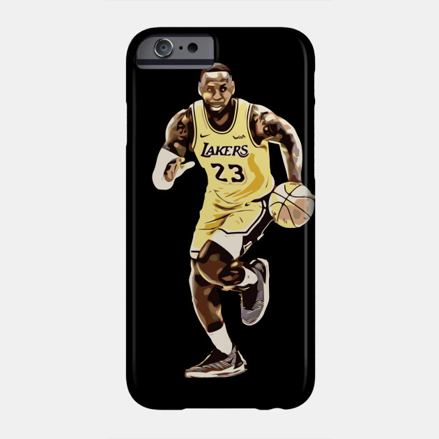 James Lebron 23 Slam Dunk NBA Basketball Cleveland Cavaliers iphone case