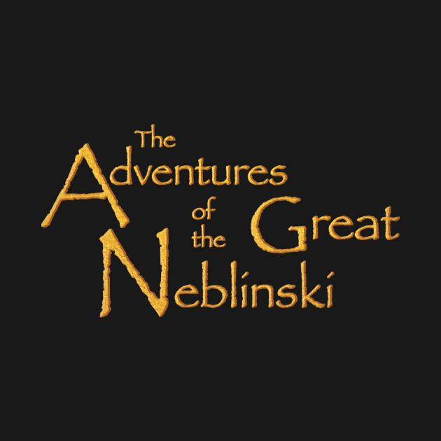 Neblinski gold on black