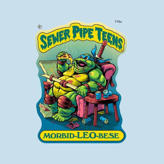 Sewer Pipe Teens: Morbid-Leo-Bese T-Shirt