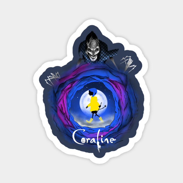 Coraline And The Other Mother The Beldam Coraline Magnet Teepublic