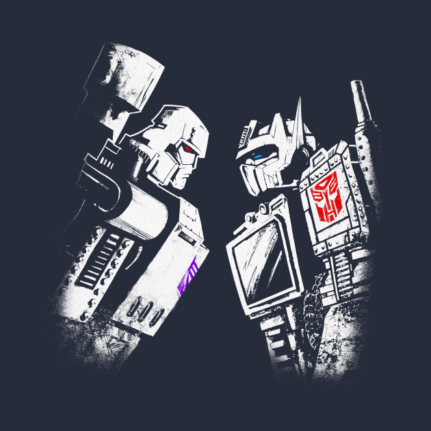 Optimus Vs. Megatron highlight colors