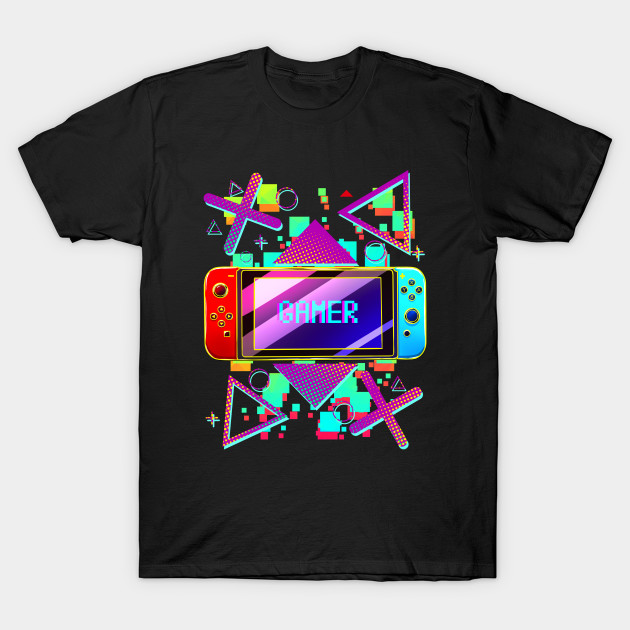 Gamer Print With Nintendo Switch