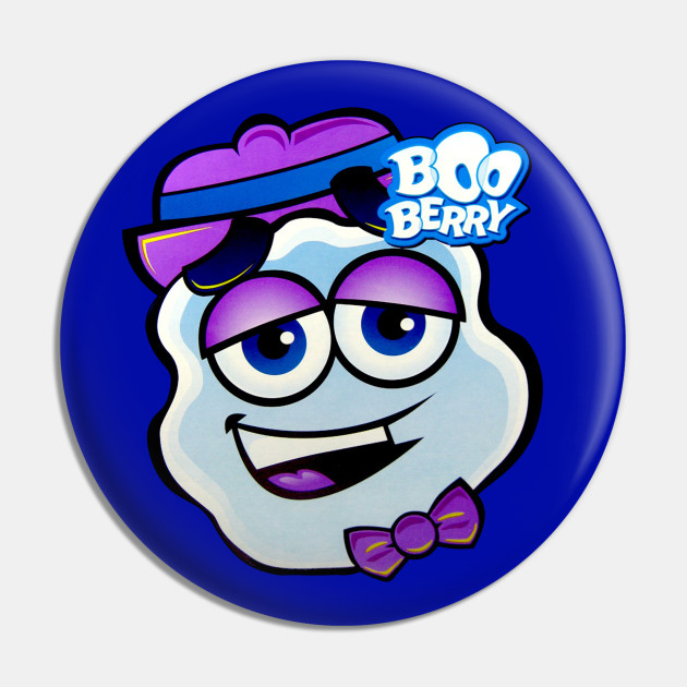 Boo Berry Monster Cereal Face Boo Berry Pin Teepublic See more of boo berry on facebook. boo berry monster cereal face
