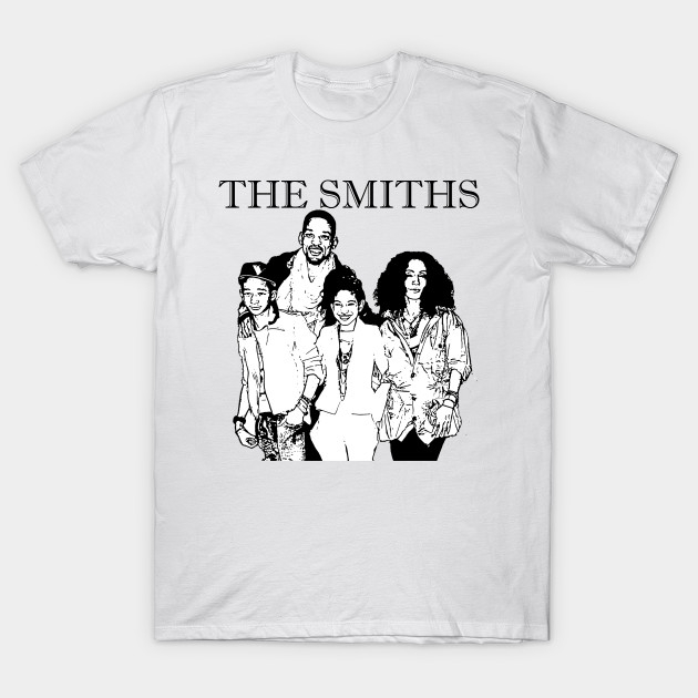 58c7fa74 The Smiths - Fresh Prince Of Bel Air - T-Shirt | TeePublic