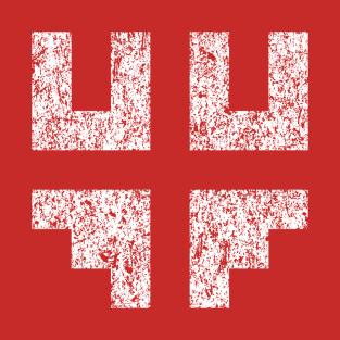 Journey Glyphs 1 t-shirts