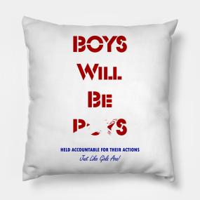 Red White And Blue Throw Pillows TeePublic