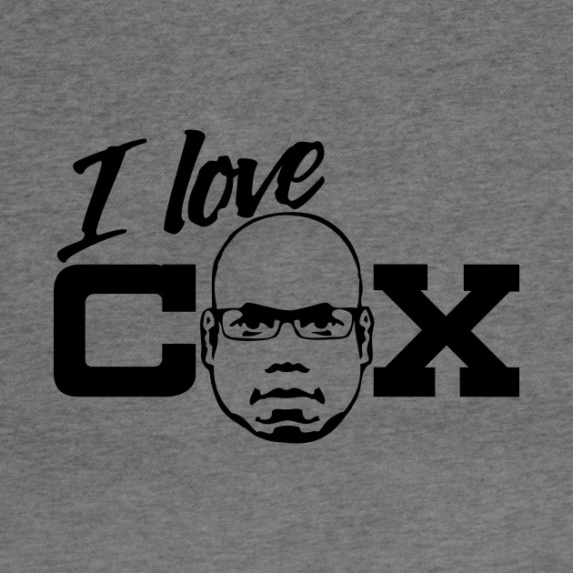 OH YES! OH YES! - Carl Cox Black Print