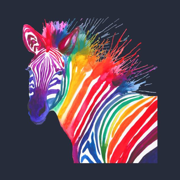 Rainbow Zebra
