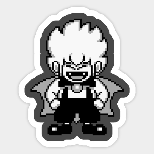 Kid dracula sticker