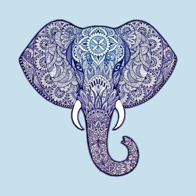 Henna Elephant Art Diwali Festival T Shirt Teepublic