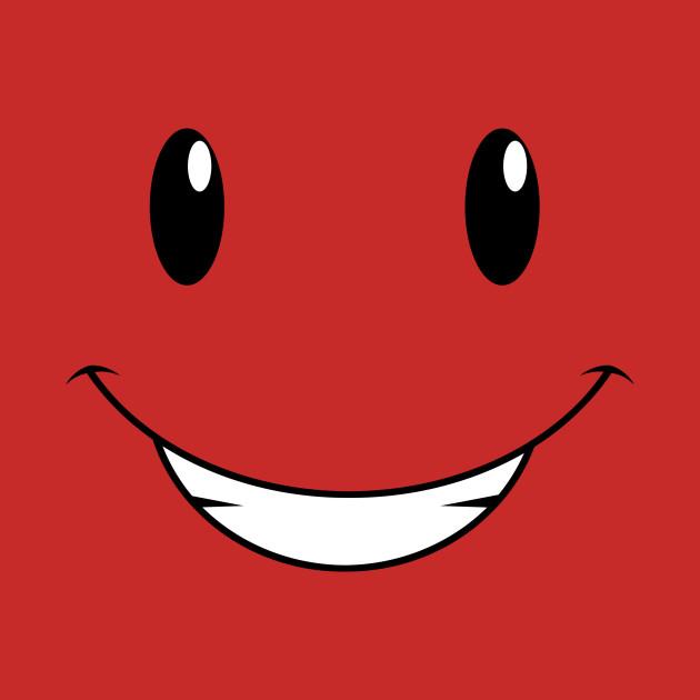 It's face