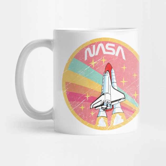 USA Space Agency Pastel Colors V02