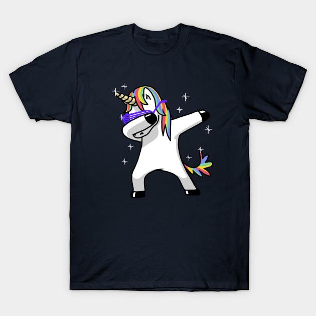 Dab Tshirt Girls Unicorn Kids Unicorn T shirt Unicorn T shirt Dabbing Unicorn