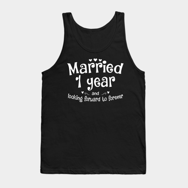 First Year Wedding Anniversary Gift For My Wife Husband Wear This