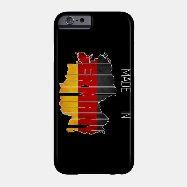 Made in Germany. German. Deutschland. Berlin Phone Case