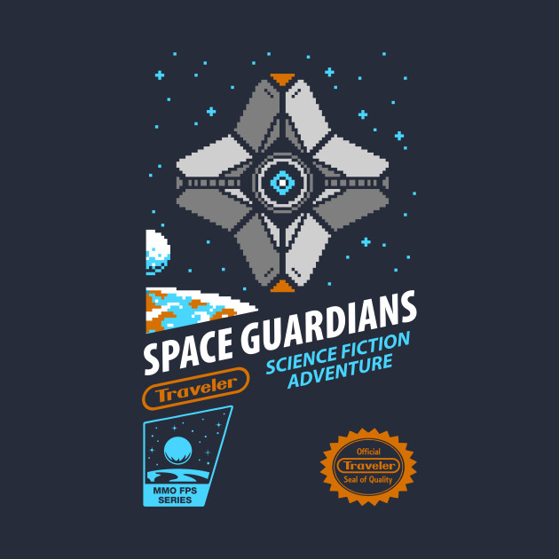 RETRO SPACE GUARDIANS